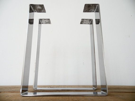 28 x 20 table legs wide flat stainless steel height by balasagun