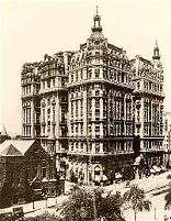 New York's  Ansonia Hotel:  where Burns and   Maharg plotted with the   Black Sox to throw the   World Series