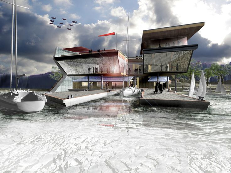 sailing clubhouse architecture - Google Search