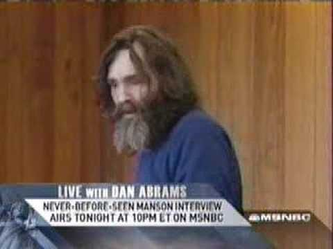 """The real world is the one I have to deal with everyday...  Ya know, Believe me, if I started murdering people...  There'd be none of you left...""   - Charles Manson"