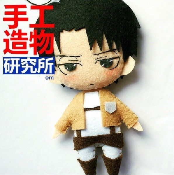 Attack on Titan Rivaille Levi Shingeki no Kyojin Cosplay DIY toy Doll material $17.10