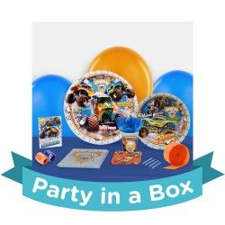 Monster Jam 3D Party in a Box For 8