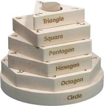 This Educational Toy Shape Stacker is an essential must have for any little loved ones collection! It educates children in a variety of ways - through shape names, shape numbers, patterns, and is excellent for developing gross motor skills. These wooden toys are crafted from locally sourced and sustainable Vermont Maple Hardwoods. Each piece is sanded smooth with engraved details and left with a natural finish. Get yours at One I Love today!