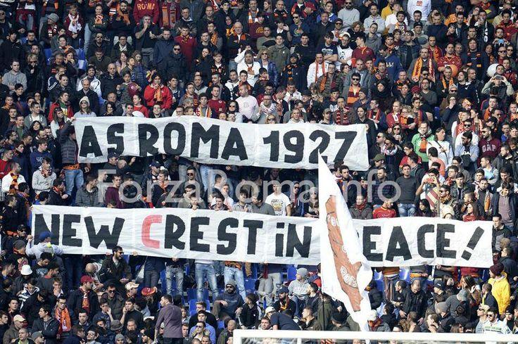 AS Roma vs Fiorentina (8 Dic 2013) Curva Nord