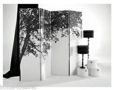 NEW ARTHOUSE TREES SILHOUETTE (SINGLED SIDED) SCREEN/ROOM DIVIDER 3 FOLDS