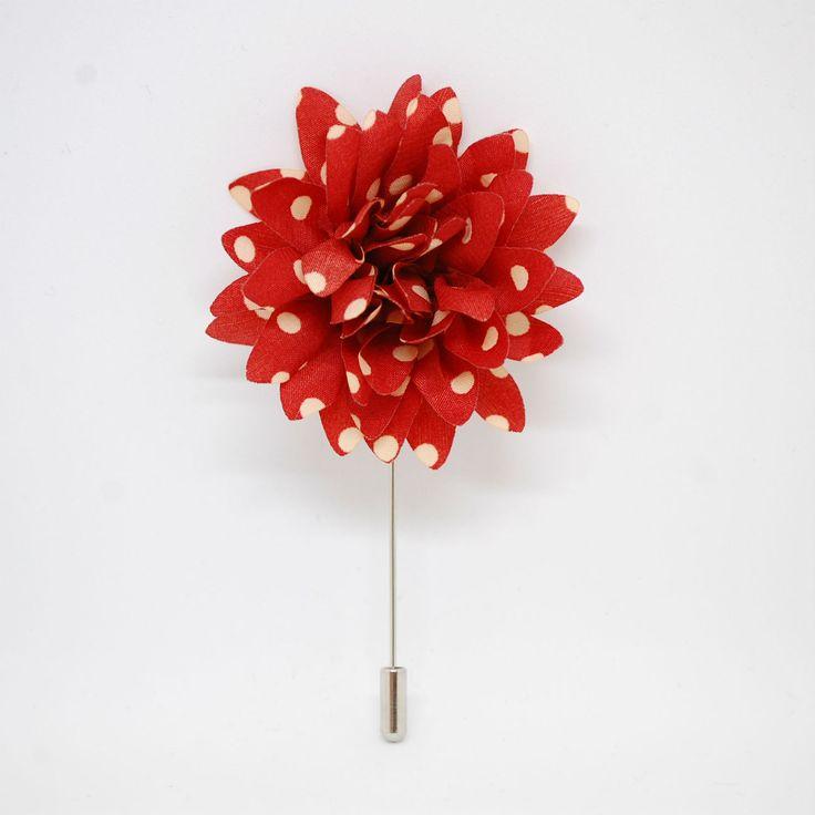 Красная бутоньерка для жениха в горошек по супер выгодной цене 990 руб руб, с бесплатной доставкой по Москве и России без предоплаты. В наличие размеры , приезжайте к нам в магазин!