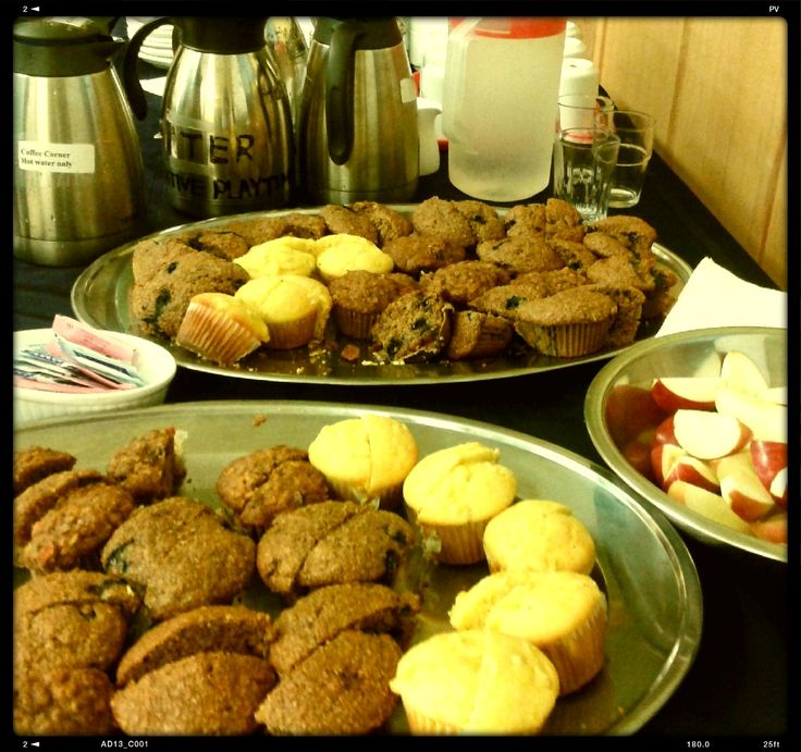Muffins for West End Seniors Community Planning Table at Gordon Neighbourhood House