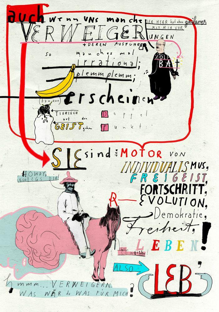 Seite mit Motiven vom Illustrator – Alexander Katin