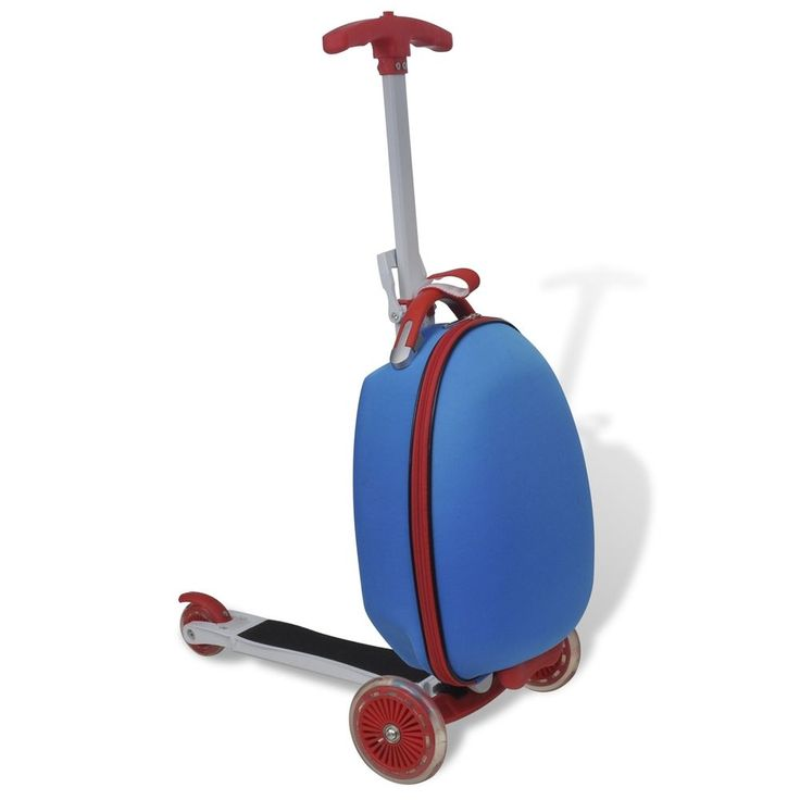 Kinder Scooter Reisekoffer Trolley Roller Handgepäck Tretroller Rollkoffer # in Reisen, Reisekoffer & -taschen, Reisekoffer & Trolleys | eBay!