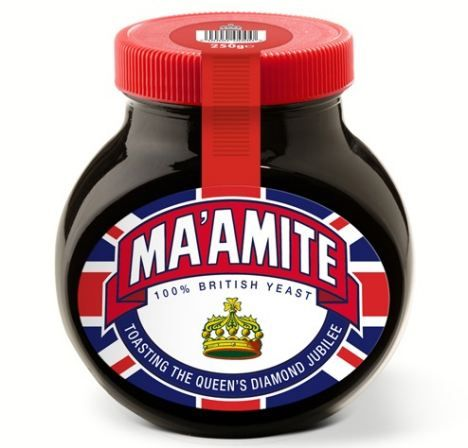 Marmite cashing in on Queen's jubilee, but not giving a penny towards it.