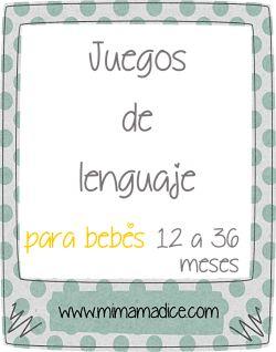 Juegos de lenguaje para bebés de 12 a 36 meses