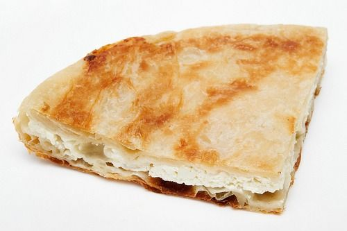 We also have burek in Slovenia. Cheese is the original, but there are also more versions of burek