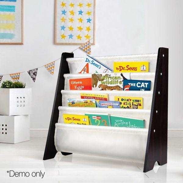 Kids Bookshelf Magazine Display Rack