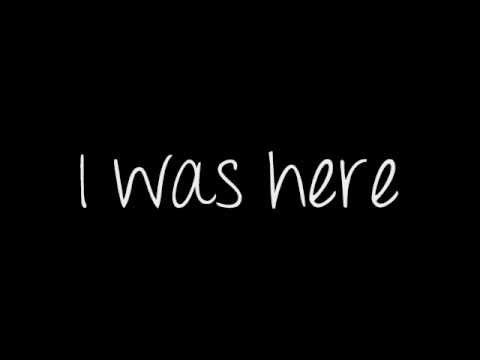 Beyonce - I Was Here (Lyrics) This is the most uplifting, empowering song I've ever heard. I feel like conquering the world right now.