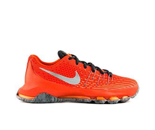 stunning Nike Youth Boys KD 8 Basketball Shoes Orange/Grey