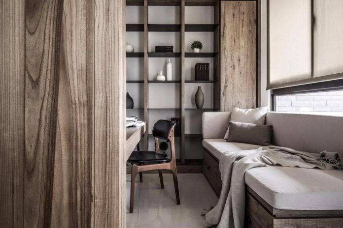 Woodscape: a breezy, atmospheric habitat in white and wood colors - CAANdesign | Architecture and home design blog