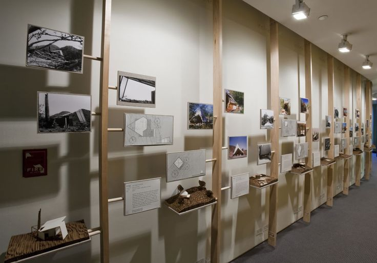 museum display design - Google Search. nifty, architectural display of images.