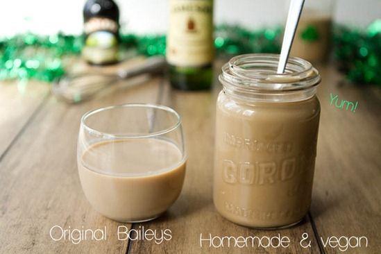 Homemade Baileys Irish Cream…made vegan!