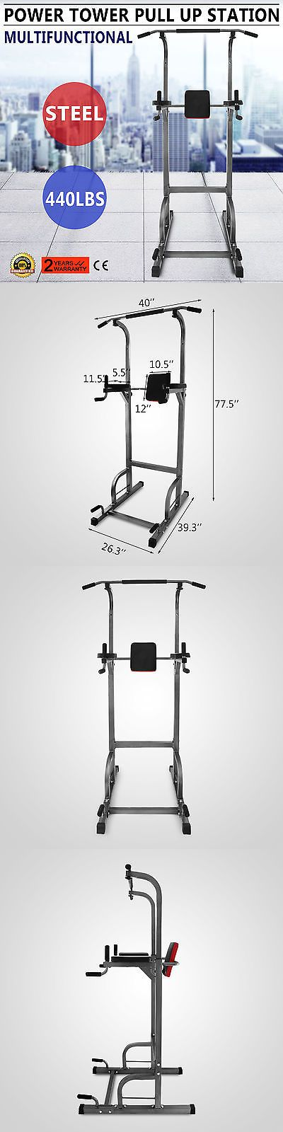 Push Up Stands 158925: Power Tower 770Lb Height Adjustable Station Push Up Workout Strength Sit Up -> BUY IT NOW ONLY: $129.62 on eBay!