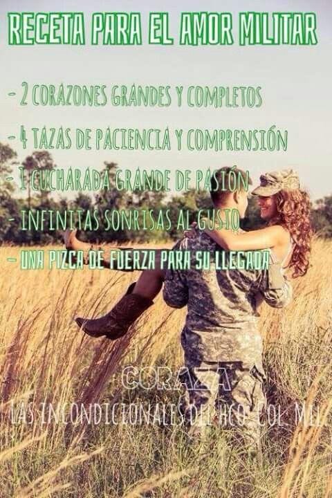 Receta para un amor militar