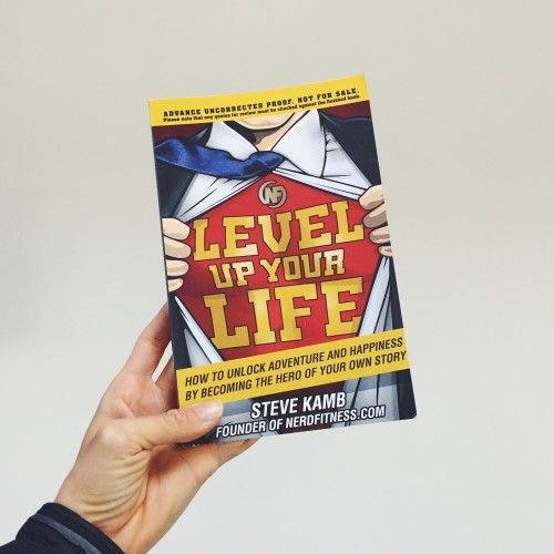 Level Up Your Life: An Interview with Steve Kamb of Nerd Fitness!