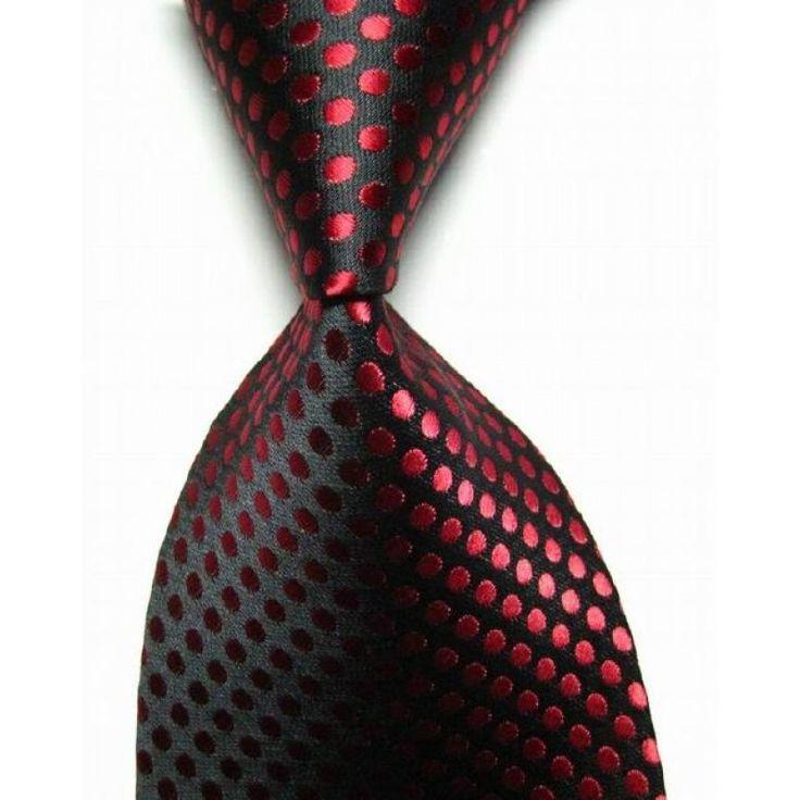 Галстук темно-красный в красные точки - купить в Киеве и Украине по недорогой цене, интернет-магазин