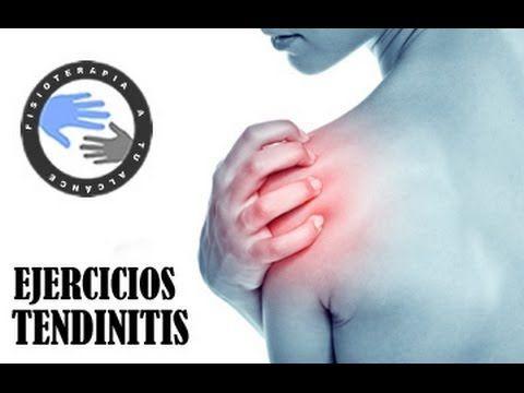 http://www.fisioterapiatualcance.es Tendinitis, ejercicios para aliviar el dolor de hombro Fisioterapia a tu alcance ¿Qué es la tendinitis de hombro? El térm...