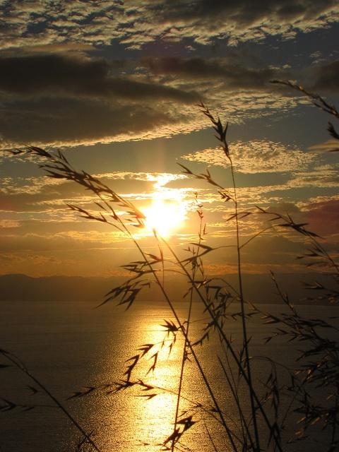 Gisborne's Sunset Over Poverty Bay, New Zealand, By Blue Polaris