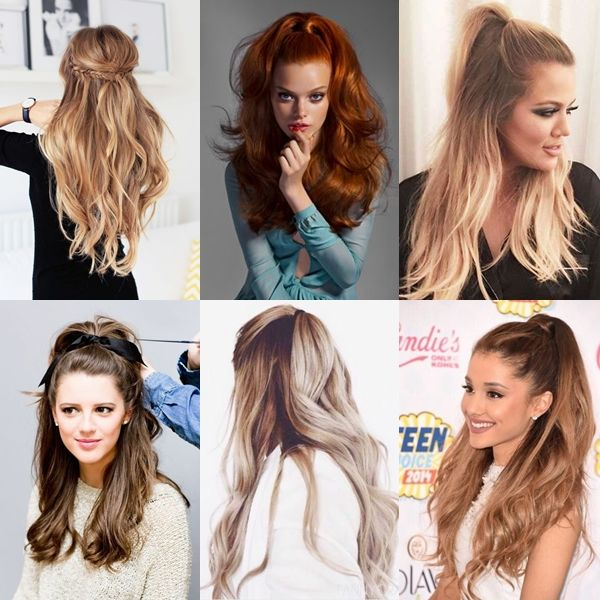 Princesinha: o meio rabo de cavalo (half ponytail) | Sutileza Feminina