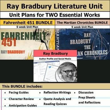 the early literary works of ray bradbury Examine the life, times, and work of ray bradbury through detailed author biographies on enotes.