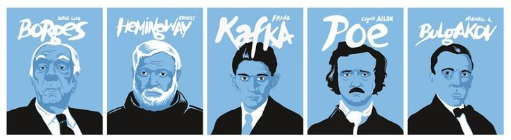 portraits of my favorite writers