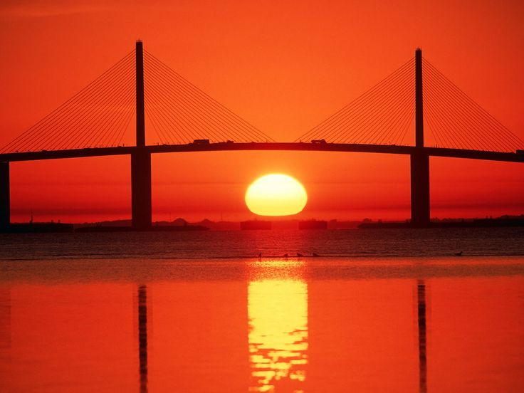 Sunshine Skyway Bridge | Sunshine Skyway Bridge Tampa Bay Florida - Bridges Roads Photography ...