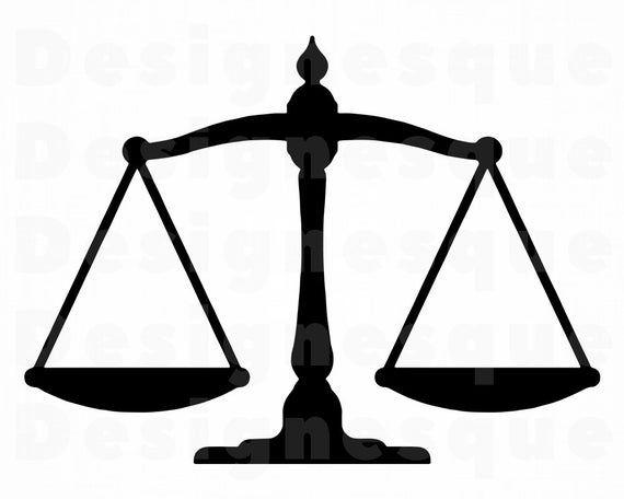Scales Of Justice 4 Svg Lawyer Svg Attorney Svg Law Svg Etsy Lawyer Svg Clip Art