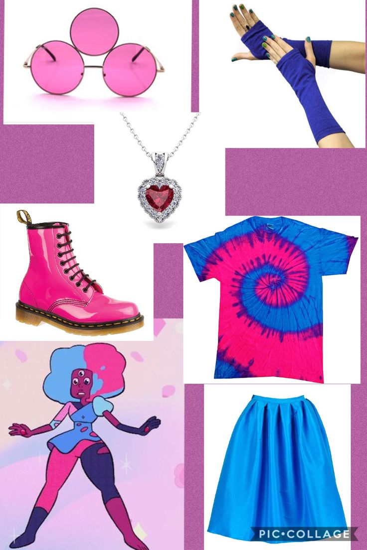 Cotton candy garnet inspired outfit , garnet inspired outfit , Steven Universe inspired outfit , Steven Universe closet cosplay, I don't own Steven Universe or any of the companies that made these clothes