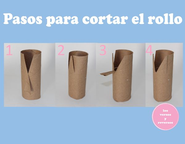 Conejos con rollo de papel | Aprender manualidades es facilisimo.com