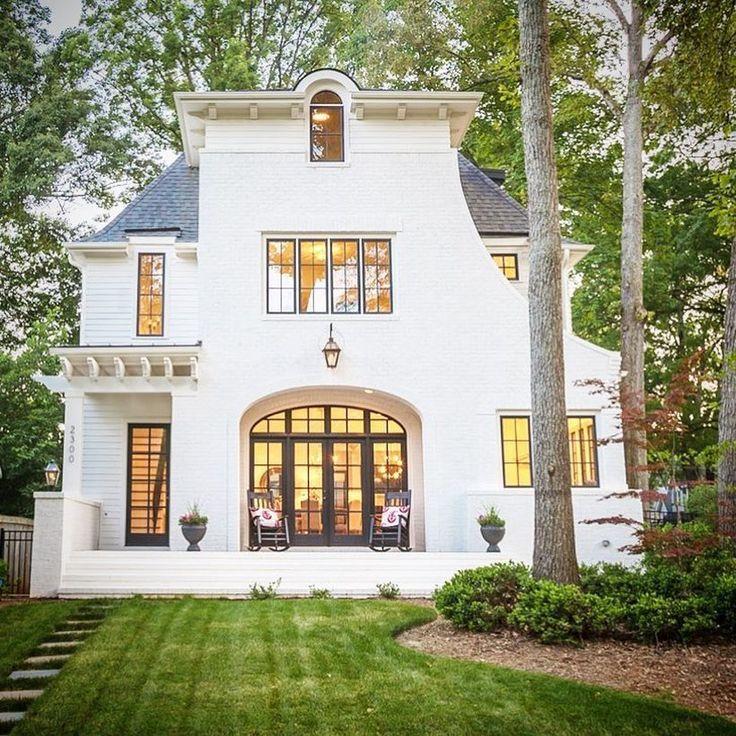 Modern Home Exterior Design Ideas 2017: 40 Best Painted Brick Images On Pinterest