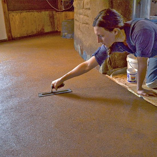 Natural Building with Earthen Floors - Green Homes - MOTHER EARTH NEWS