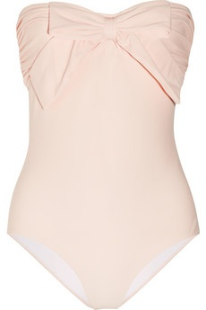 Miu Miu - cute swimsuit. I'd look terrible in it though. Maybe someone reading this would look good in it?