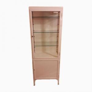 Metal Polish Vintage Medical Cabinet, 1950s