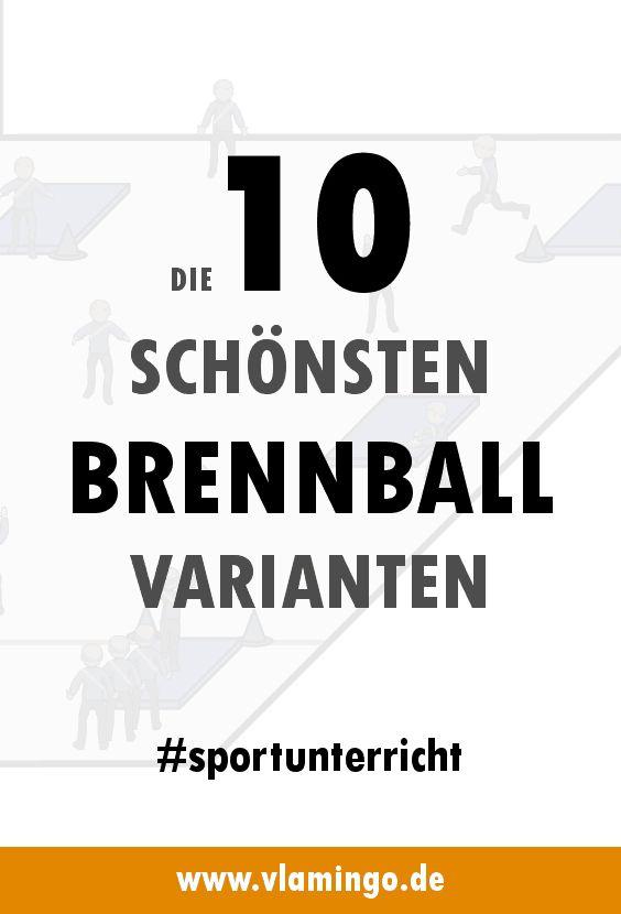 Die 10 schönsten Brennball-Varianten für den Sportunterricht – Wiebke Smörebröd