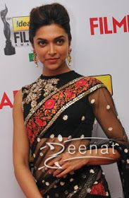 Deepika Padukon: deepika padukone saree blouse design