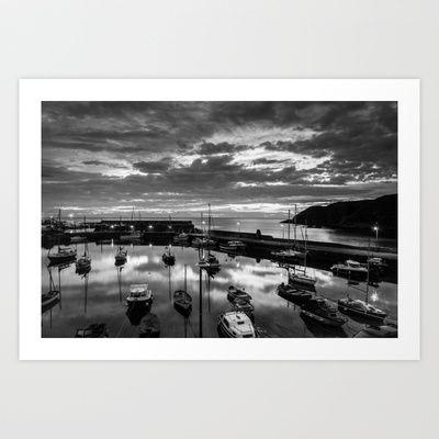 Stonehaven sunrise Art Print by RDPhotography - $16.00