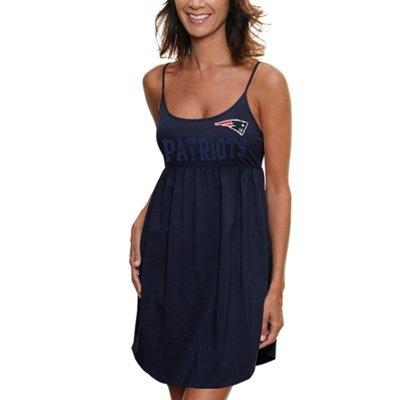#Ultimate Tailgate #Fanatics  '47 Brand New England Patriots Ladies Susie Baby Doll Dress - Navy Blue