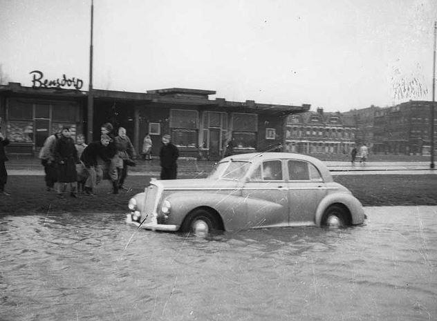 1953. Zuidplein. Rotterdam.