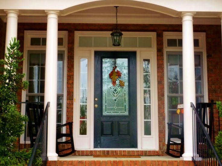 Single Entry Doors With Glass 29 best front doors images on pinterest   doors, front door colors