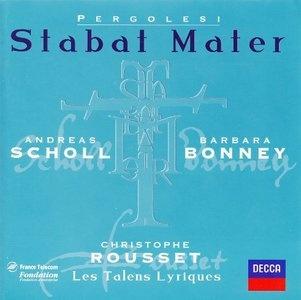 Pergolesi - Stabat Mater, Salve Regina in f-moll & a-moll (Christophe Rousset, Andreas Scholl, Barbara Bonney) [1999]