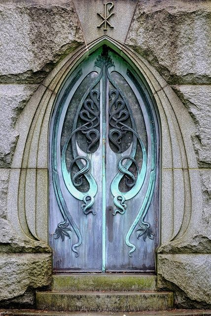 crazyredheadednerd:    221cbakerstreet:    raging-rabbit:    Art Nouveau (via Art Nouveau - Architecture & Furniture)    speak friend and enter    My thoughts exactly.