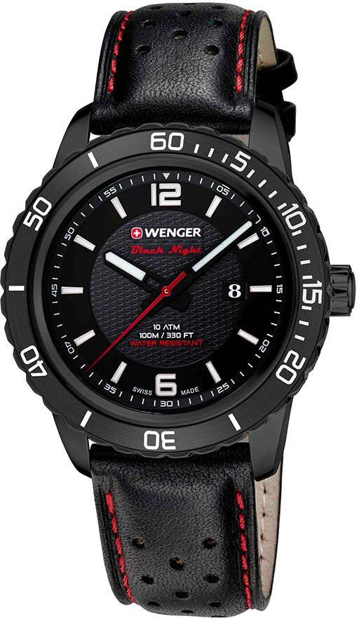 Wenger Watch Roadster Black Night Date PVD #bezel-unidirectional #bracelet-strap-leather #brand-wenger #case-depth-10mm #case-material-black-pvd #case-width-45mm #classic #date-yes #delivery-timescale-4-7-days #dial-colour-black #gender-mens #movement-quartz-battery #new-product-yes #official-stockist-for-wenger-watches #packaging-wenger-watch-packaging #style-sports #subcat-roadster #supplier-model-no-01-0851-123 #warranty-wenger-official-3-year-guarantee #water-resistant-100m