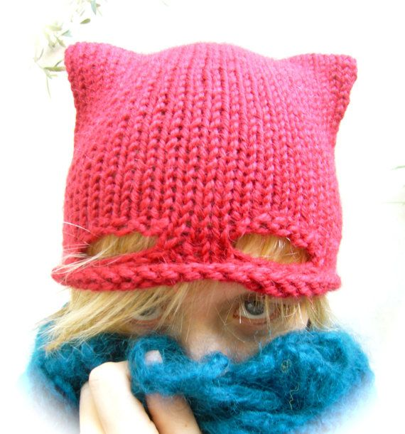 So cute - wonder if you could alter one of the free hat patterns I have here - http://www.allcrafts.net/crochet/knittinghats.htm