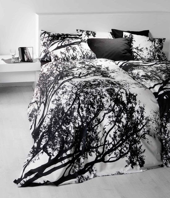 beautiful black comforters | Interior Design Show 2010: What's hot!
